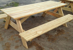 Eastern Shore Picnic Tables
