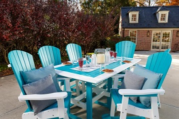 Outdoor Table Chairs Eastern Shore