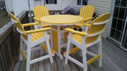 Queen Annes County Maryland Poly Lawn Furniture